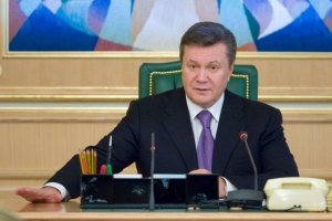 Янукович підписав закон про мови