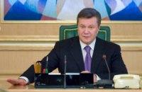 Янукович подписал закон о языках