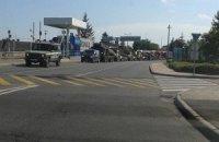 Угорці зняли військову колону на в'їзді в Україну (оновлено)