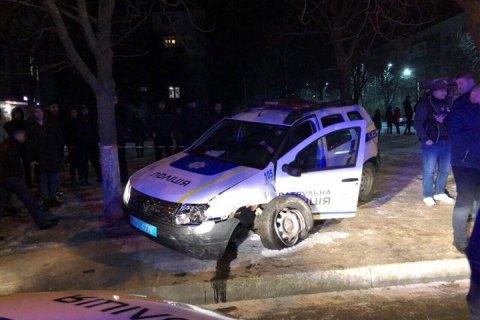 Патрульный автомобиль попал в ДТП в Измаиле