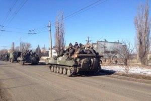 Семенченко заявив про відведення українських військ із Дебальцевого