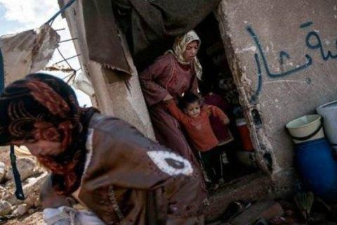 Жертвами российской авиации в Сирии стали почти 600 человек