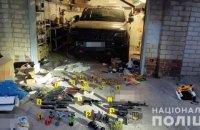 В гараже харьковчанина, подорвавшего себя гранатой, обнаружили арсенал оружия