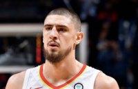 Українець Лень провів ювілейний матч у НБА