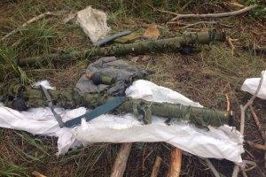 Під Ізюмом знайшли схованку бойовиків з російськими ПЗРК