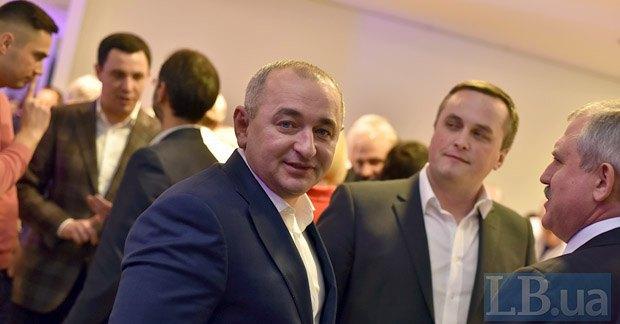 Слева направо: Анатолий Матиос, Назар Холодницкий и Андрей Сенченко