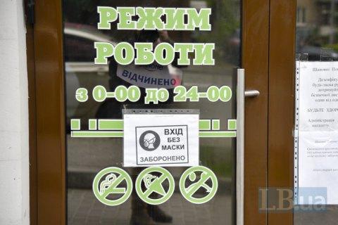 И-за карантина розничная торговля в Украине сократилась на четверть