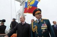Министр обороны РФ прилетел в Крым проверить боеготовность