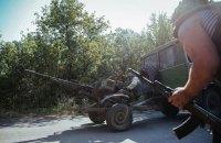 За сутки боевики 56 раз открывали огонь по позициям военных в зоне АТО