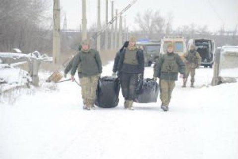 Украине вернули тела двух военных, погибших на Светлодарской дуге