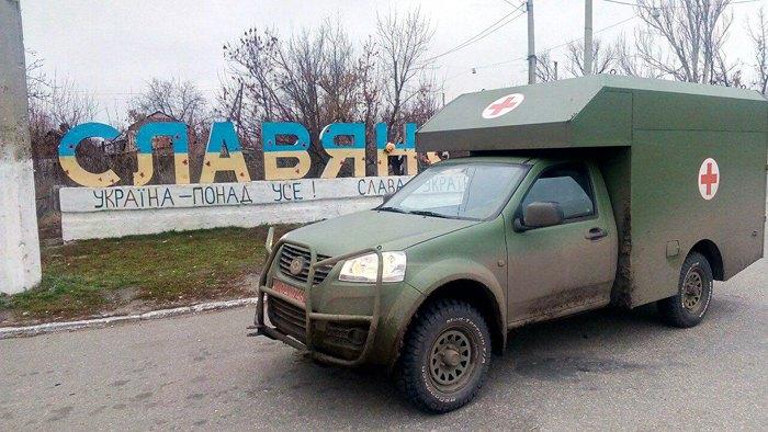 Санітарна машина 'Богдан 2251'