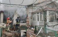 В Одессе во время тушения пожара погиб спасатель