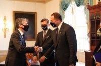 Кулеба і Єрмак зустрілися у Вашингтоні з Держсекретарем США