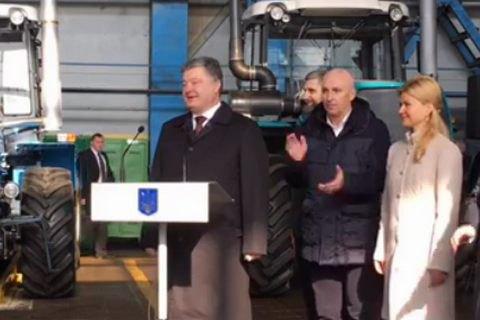 Порошенко пообещал поддержку заводу Ярославского