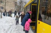 После пожара в детском саду Киева эвакуировали 124 ребенка