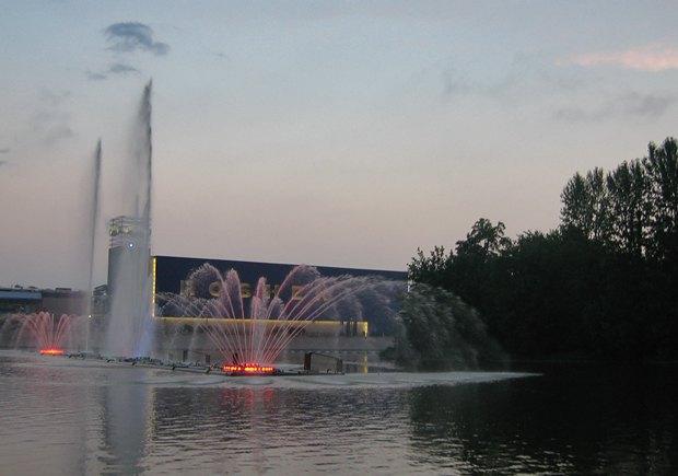 Светомузыкальный фонтан в Виннице лучше увидеть собственными глазами