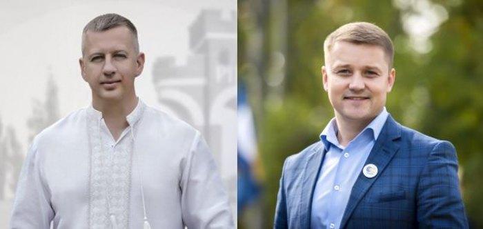 Віктор Шакирзян і Олександр Третяк (справа)