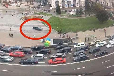 В Киеве передали в суд дело против водителя, сбившего насмерть двух женщин на Майдане