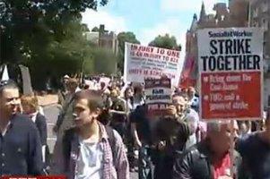 В Британии началась крупнейшая забастовка госслужащих