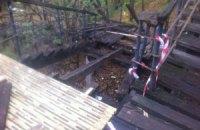 """Чиновники призупинили """"реконструкцію"""" сходів на Пейзажній алеї"""