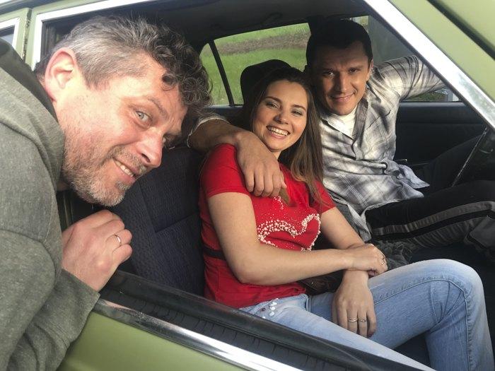 Зліва-направо: Олександр Тименко, Антоніна Хижняк та Тарас Цимбалюк