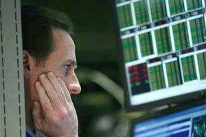 Фондовый рынок понес потери в акциях