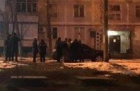В центре Запорожья взорвался автомобиль