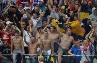 Російських фанатів депортували з Польщі