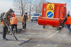 Укравтодор отчитался о ликвидации ям на 85% основных дорог