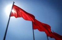 В Луганске вывесили красные флаги