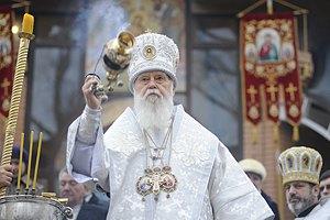 Патріарх Філарет здійснив церковний похід у Києві