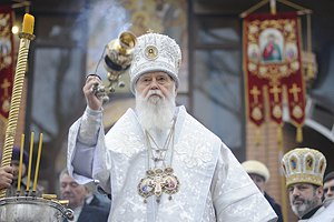 Филарет признал связь с КГБ