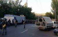 Поліція Єревана відпустила майже всіх затриманих на проспекті Баграмяна