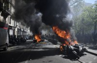 """У Парижі поновилися зіткнення на акції """"жовтих жилетів"""""""