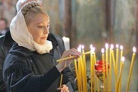 Завтра Тимошенко будет молиться за Украину