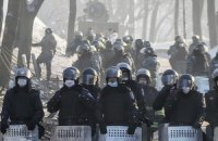 На Грушевского пострадали и заболели более 1500 милиционеров, - МВД