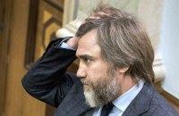 Новинский не пойдет на выборы по партийному списку