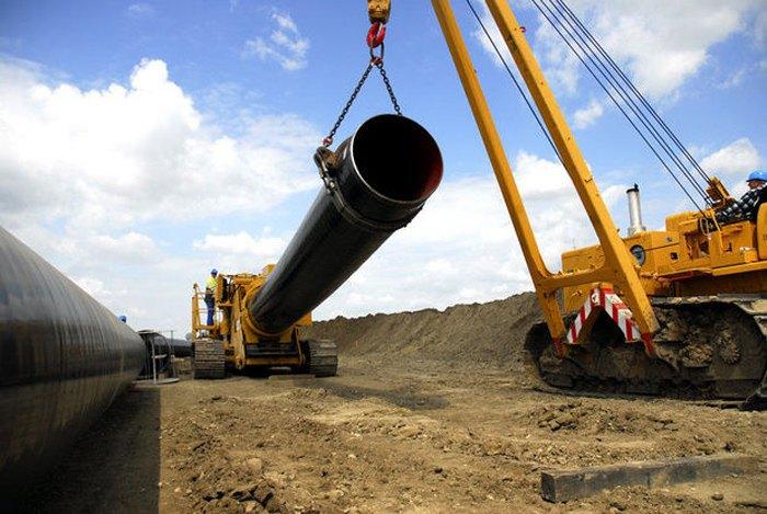 Прокладка Трансадриатического газопровода