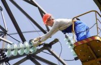 Промисловість скоротила споживання електроенергії