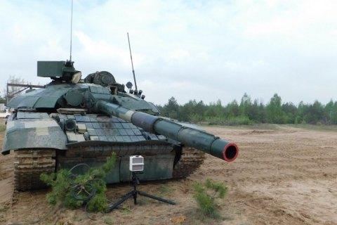 У Чернігівській області проходять випробування модернізованого танка Т-72