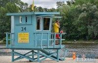У Києві тимчасово не рекомендують купатися на п'ятьох пляжах із 14