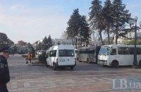 Милиция усилила охрану порядка в центре Киева