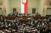 Три міністри і спікер Сейму Польщі подали у відставку