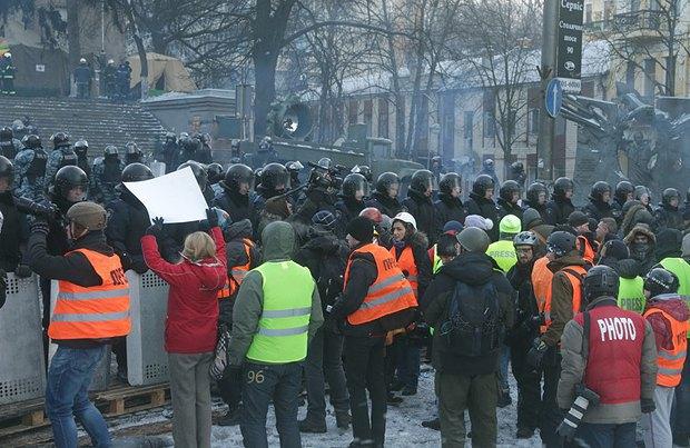 Акція протесту журналістів