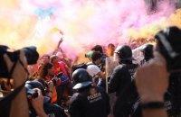 Между полицией и сторонниками независимости Каталонии произошли столкновения в Барселоне