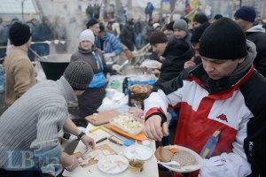 Один день Майдану обходиться в 500 тис. гривень