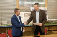 КГГА и застройщик Сенного подписали меморандум: высотность снижена до 19 этажей
