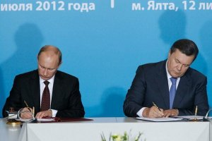Янукович хоче потіснити флот Росії в Криму