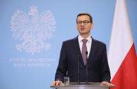 """Премьер Польши назвал """"Северный поток-2"""" опасным проектом"""