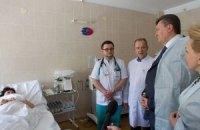 У дніпропетровських лікарнях залишаються 14 жертв вибухів